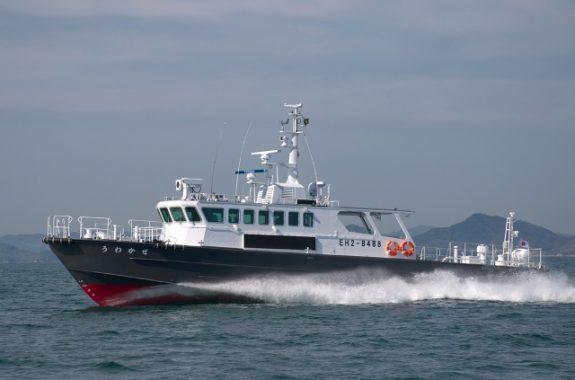 うわかぜ(漁業取締船) | 株式...